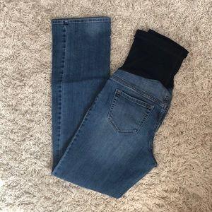 Liz Lange maternity jeans size 6 - boot cut